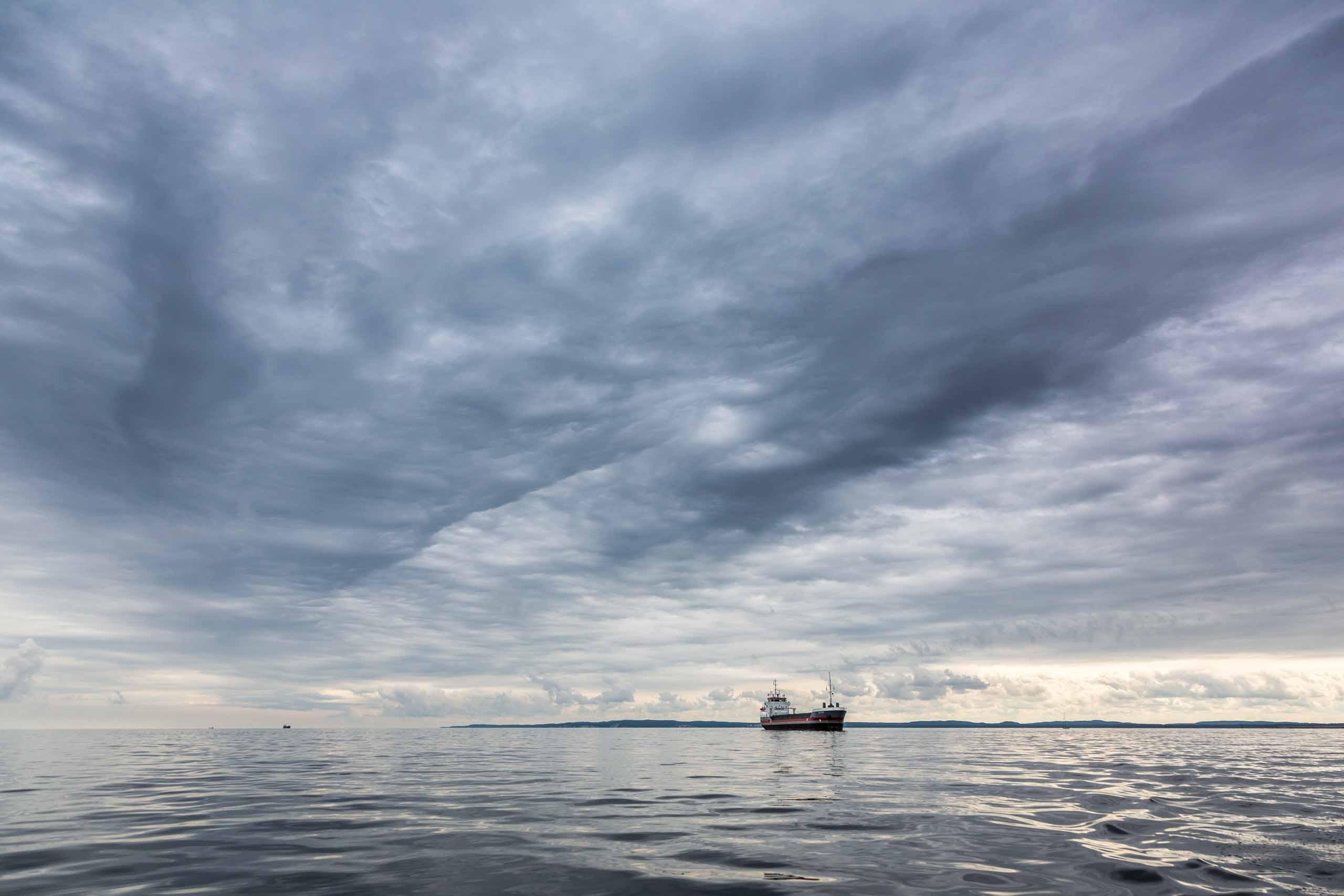 Auf die Ostsee